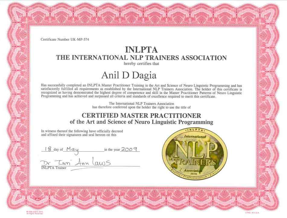 NLP Pune - NLP Mumbai - NLP India - NLP Training - ICF ...